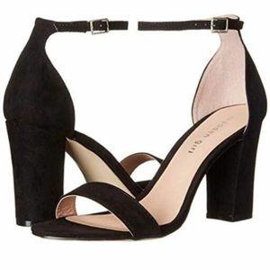 Madden Girl Black Ankle Strap Heels ✨